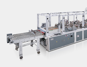 High Speed Twin lines sheet protector making machine