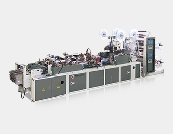 Twin Line Sheet Protector Machine (Blown Film Feeding)