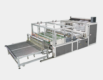4 Lines Air Bubble Bag Folding and Sealing Machine