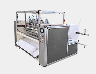 Air Bubble / EPE Coreless Rewinding Machine